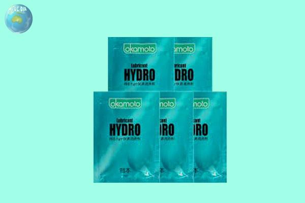 Cách dùng Gel bôi trơn Okamoto Lubricant Hydro
