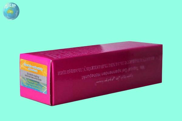 Tác dụng dược lý của gel bôi trơn Tide