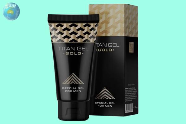 Thuốc tăng cường kích thước dương vật Titan Gel Gold của Nga