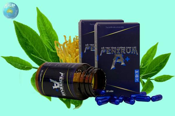 Thuốc làm to dương vật - Penirum A+ của Việt Nam