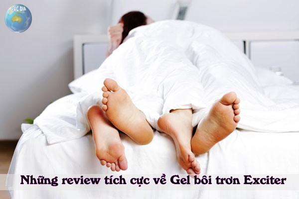 Review của người sử dụng về Gel bôi trơn Excite